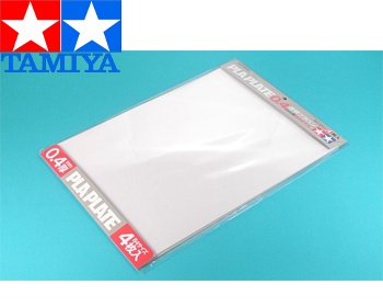 Tamiya Clear Pla-Plate 0,4mm - 70175