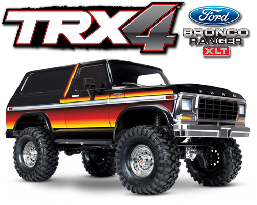 Traxxas TRX-4 Scale Crawer Ford Bronco RTR - 82046-4