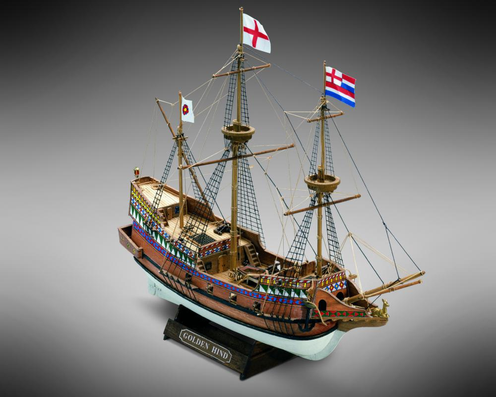 Mamoli Golden Hind Trémódel - MM71